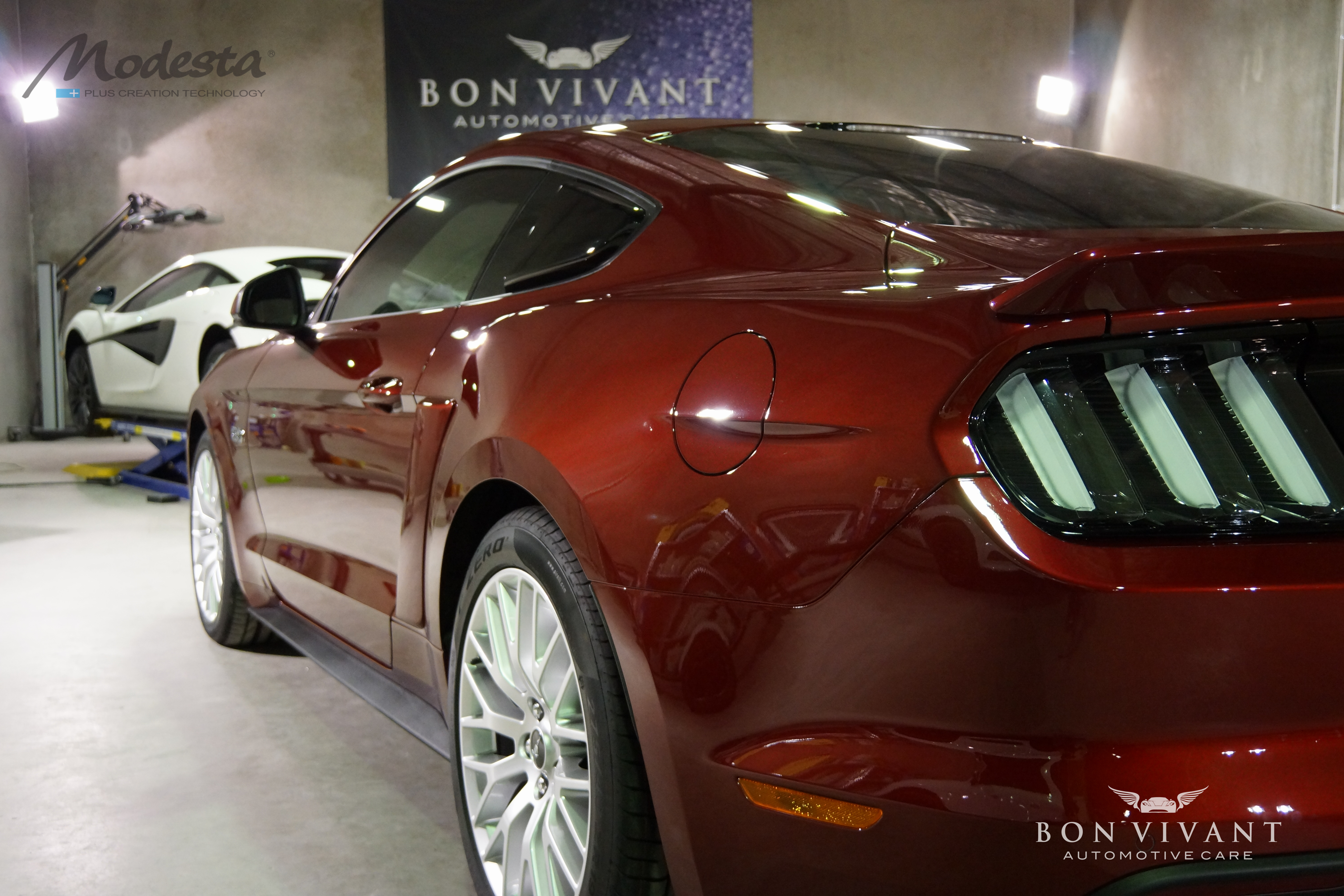 Bon Vivant Paint Protection Coating | Modesta P-01A BC-05 | Ford Mustang Roush GT
