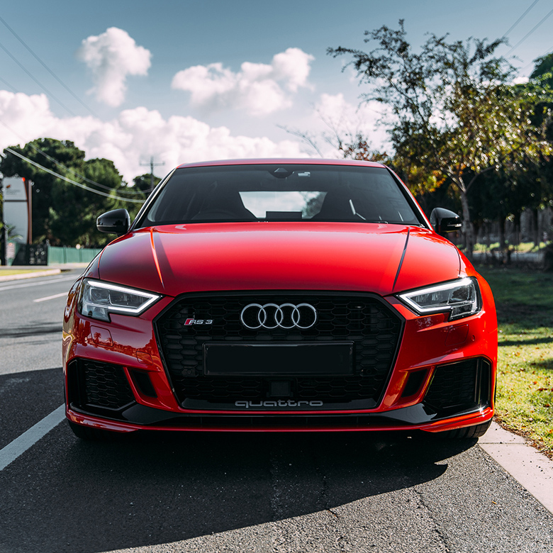 Audi RS3 Misano Red